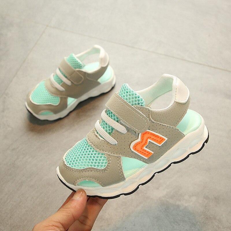 1c124532ba9 Dýchatelné letní sandály dětské elegantní 5 hvězdiček vysoké kvality ...