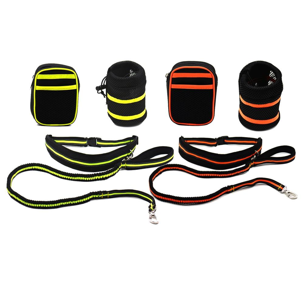 Cheap Waist Pet Dog s Leash Running Jogging Puppy Dog Lead Collar Sport Walking Leash font