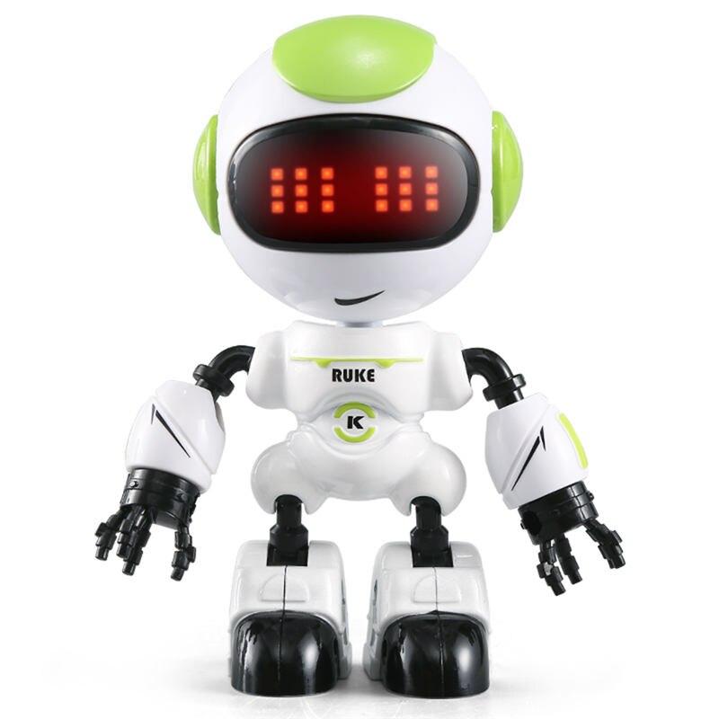 JJRC R8 RUKE / R9 Ruby Touch Control DIY Gesture Mini Smart Voiced Alloy Robot Toy RC Robots Blue Pink Orange Yellow