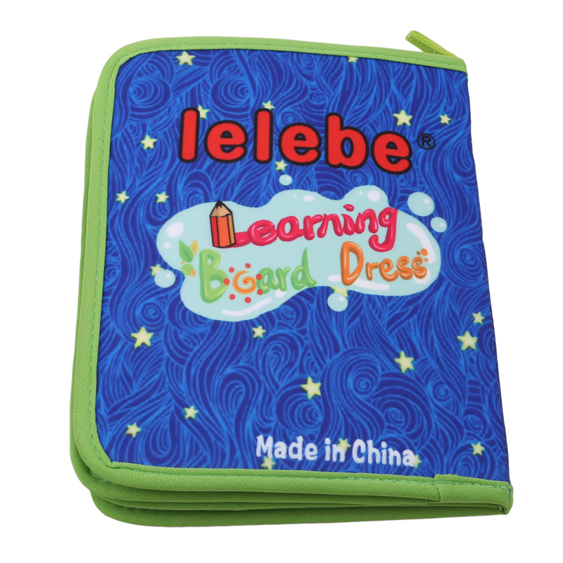 Dress Teaching Board Zip//Snap//Button//Buckle//Lace//Tie Early Learning Toy for Kids
