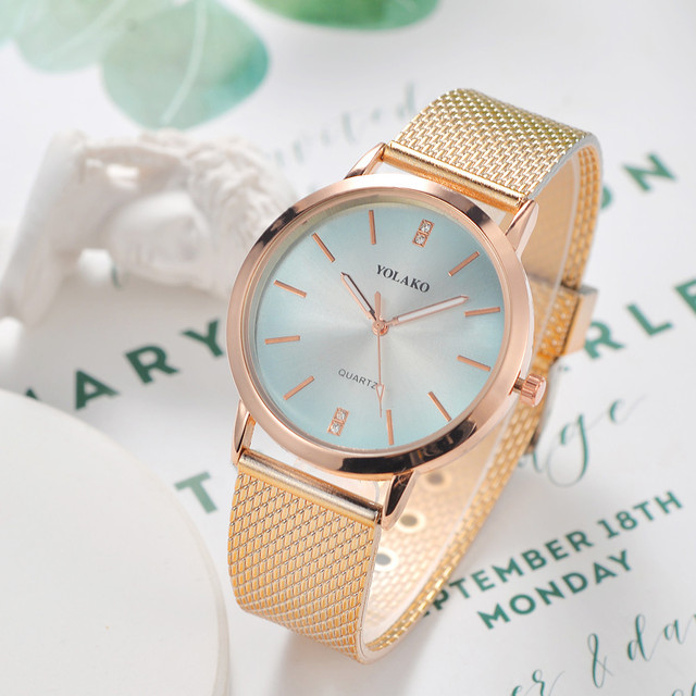 Women's Bracelet Watches Casual Quartz Leather Band New Strap Watch Wrist Watch
