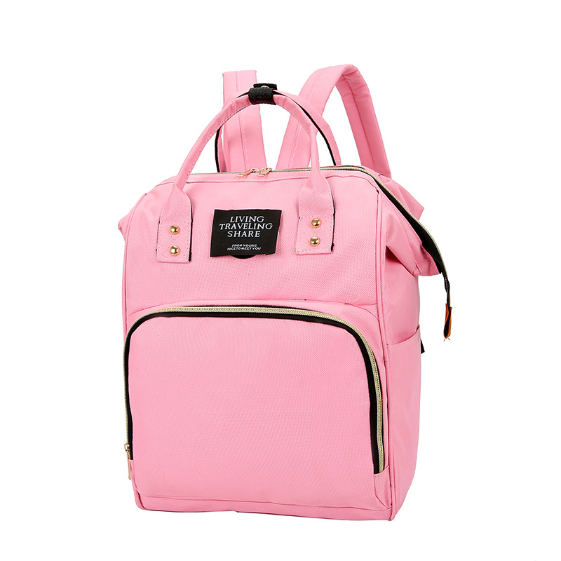 Fashion Mommy Bags Packbags Double Shoulder Backpack Multi functional Large Capacity Mama Backpack Bags Mother Child Backpack in Backpacks from Luggage Bags
