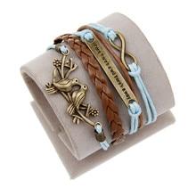 Vintage Braided Lion Bracelets