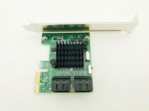 Image 3 - H1111Z Eklemek Kartları PCIE/PCI E/PCI Express SATA3 SATA 3 Denetleyici SATA Çarpan/Genişleme PCI E adaptörü + Düşük Profil Braketi