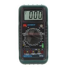 Mastech My62 ручной цифровой мультиметр Dmm W температура емкость и Hfe тест тестеры метров случайностью