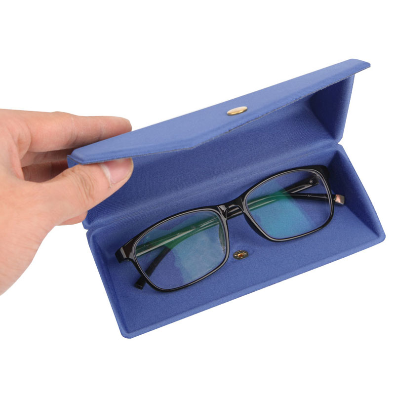 Eyewear Accessories Provided 6 Colors Available Spectacle Cases 1 Pc Protable Light Triangular Fold Glasses Case Eyeglass Sunglasses Protector Hard Box Modern And Elegant In Fashion Men's Glasses
