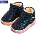 Hot Sale Winter Warm Plush PVC Soles 2017 High Quality Children Snow Boots Kids Shoes for Girls Boys Boots 5 Color WJ0587