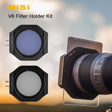 Nisi V6 Filter Holder Kit 100mm System with Circular Polarising Filter CPL 67 72 77 82mm Adapter Ring for Square Filters