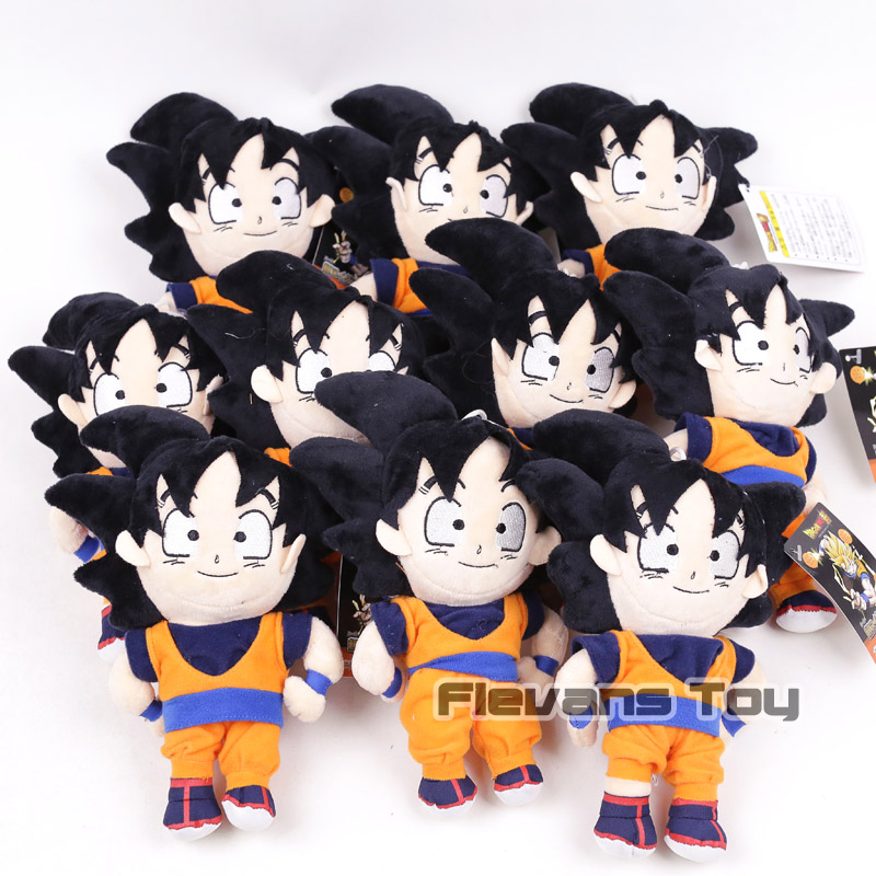 Dragon Ball Z Son Goku Vegeta Piccolo Majin Buu Anime Cartoon Plush Toys Soft Stuffed Dolls