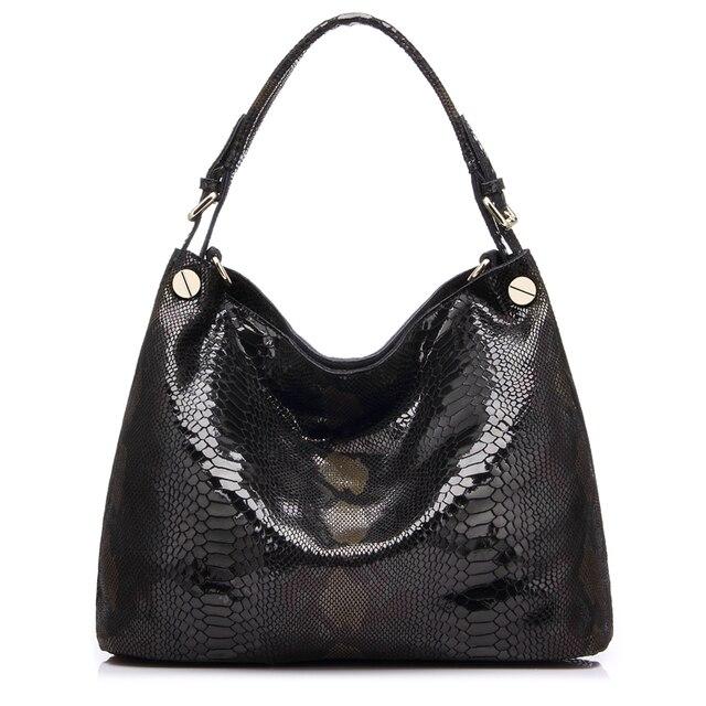 Большая Женская сумка из натуральной кожи REALER