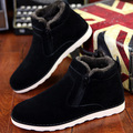 Winter Warm Snow Boots Men Boots Short Shoes Short Plush  Increased Leisure Fashion Boots