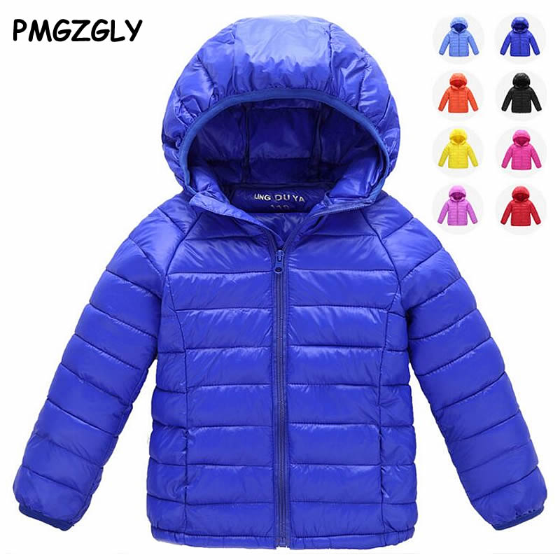 2 to 12 T light Boys Girls childrens Autumn Winter jackets Baby down coat Jackets outerwear childrens clothing children cloth