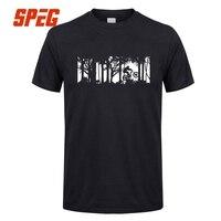 Summer T Shirt Werewolf MTB Mountain Biking Cycling T Shirt Biker Bicycle Man Cotton Tees Great