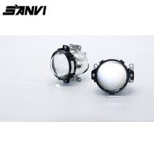 SANVI Auto Led-scheinwerfer H7 9006 H4 35 Watt 40 Watt 6000 Karat Hohe Abblendlicht Auto-styling Änderung Bi FÜHRTE Projektor Objektiv Scheinwerfer
