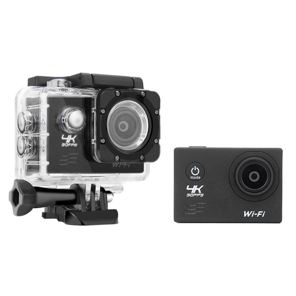 Wifi Camera 16MP 170 Degree Wide Angel Sports DV Waterproof Outdoor Diving Riding Photo Shooting Video Recording