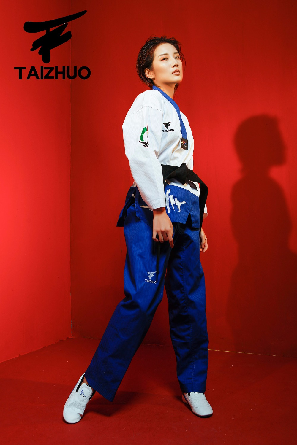 Taekwondo Uniform Dobok Male Female Taekwondo dobok cotton suits jodo Uniform Taekwondo Cloths j calicu taekwondo dobok adults children male taekwondo poomsae clothes cool cotton striped genuine for have dan persons karate