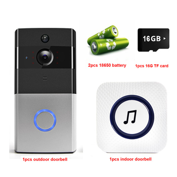 IP Video Intercom WI-FI Video Door Phone Door Bell WIFI Doorbell Camera For Apartments IR Alarm Wireless Security Camera 10