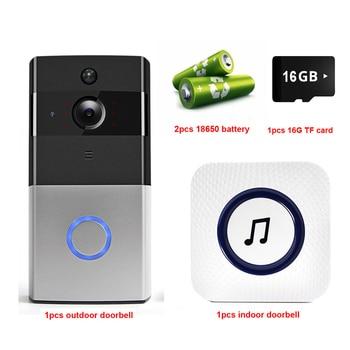 IP Video Intercom WI-FI Video Door Phone Door Bell WIFI Doorbell Camera For Apartments IR Alarm Wireless Security Camera 10