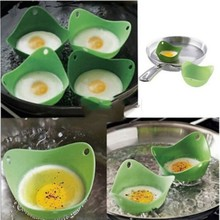 2 Pcs Silicone Egg Poacher Poaching Pods Pan Mould Kitchen Cooking Tool Accessory Gadget Accesories(China)