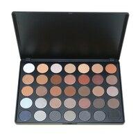 Thời trang Trang Điểm Mắt 35 Màu Phấn Mắt Palette Trái Đất Màu Ấm Shimmer Matte Beauty Trang Điểm Set Smoky Nude Eyeshadow E35 #