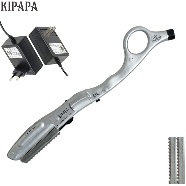 Pemangkas rambut Styling Alat Cukur Listrik Mesin Ultrasonik Bergetar Panas  Razor untuk Memotong Rambut Manusia Rambut 47ec129694