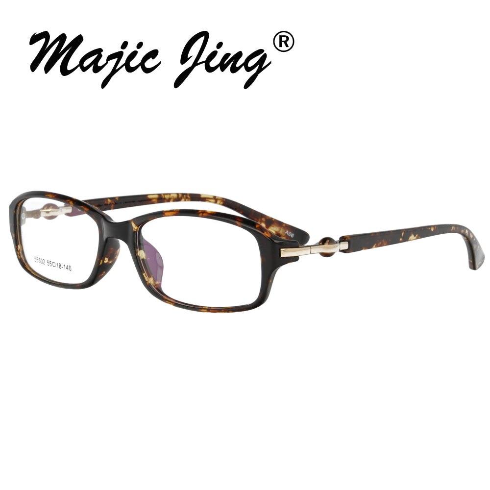 TR90 оптический Стекло es рамка Для мужчин Для женщин полный обод близорукость глаз, стекло рецепта Стекло es очки 55502 - Цвет оправы: A06