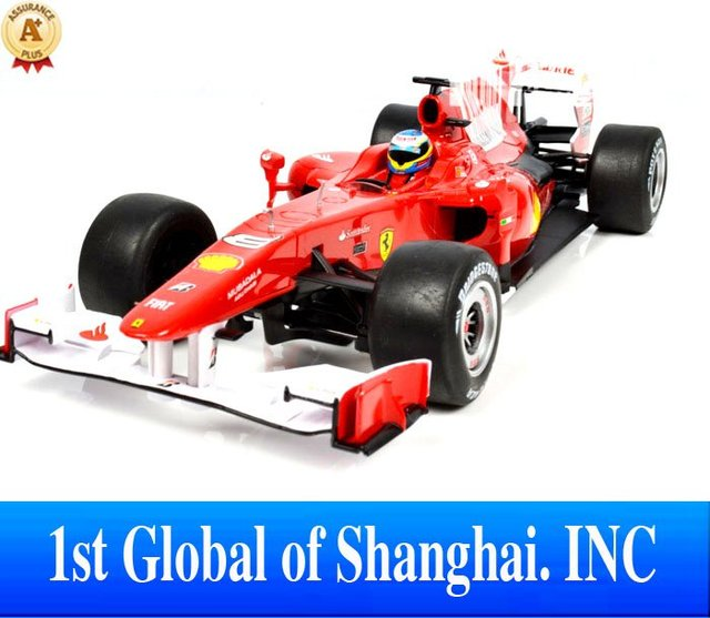 Ship China Post Freee shipping Chistmas Gifts Novelty 1:18  F1 Radio Control  Electric Racing Car Toys For Children 2012