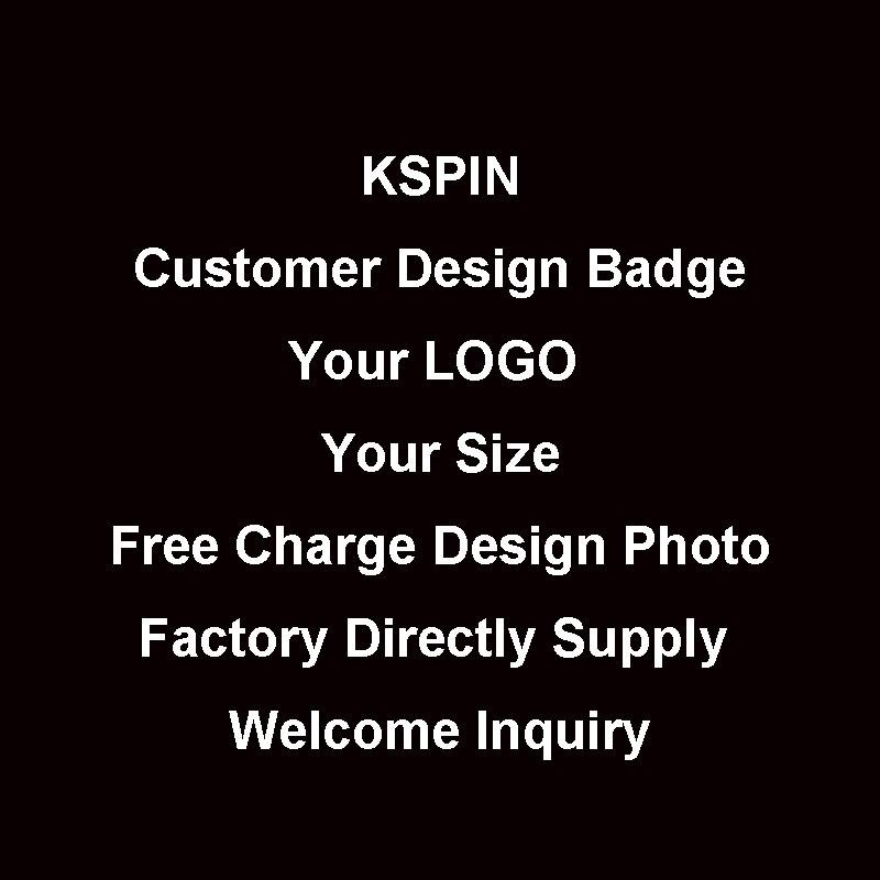 Insigne de Logo propre au client pour tous