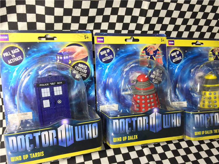 2009 Box Toy Original Garage Kit Classic Toy Secondhand TV: Doctor Who - Police Tardis, Dalek Figure Collectible Model Loose Toy