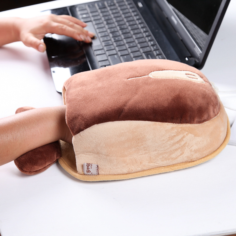USB Heated Mouse Pad Mouse Hand Warmer - Shop For Gamers