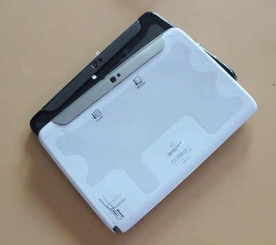 أسود/أبيض لسامسونج غالاكسي تبويب 10.1 N8000 عودة غطاء البطارية الغطاء الخلفي للقضية الغطاء الخلفي