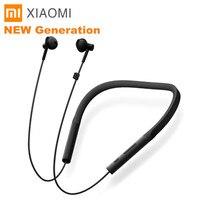 Xiaomi ожерелье Bluetooth наушники беспроводные наушники с микрофоном и в линии управления молодая версия ожерелье Bluetooth гарнитуры