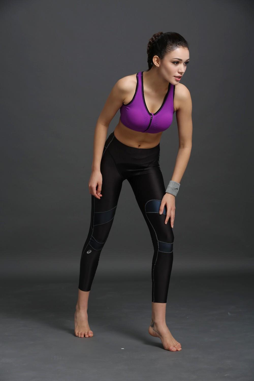 B.BANG 17 New Women Zipper Bra Push Up Crop Top Seamless Sexy Shakeproof Underwear M-XXXL Big Size Wholesale Brassiere 13