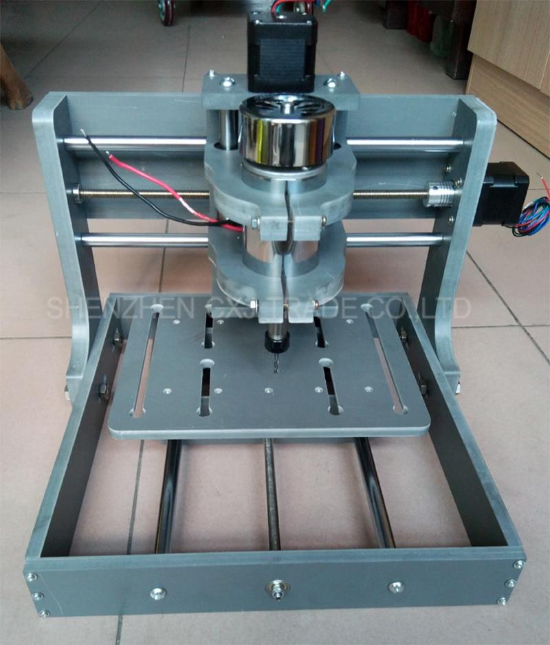 Free Shipping 1pcs 300W 2020B USB 3 Axis Milling Engraving Machine DIY PCB CNC Wood Carving PVC 2020B Support MACH3 System