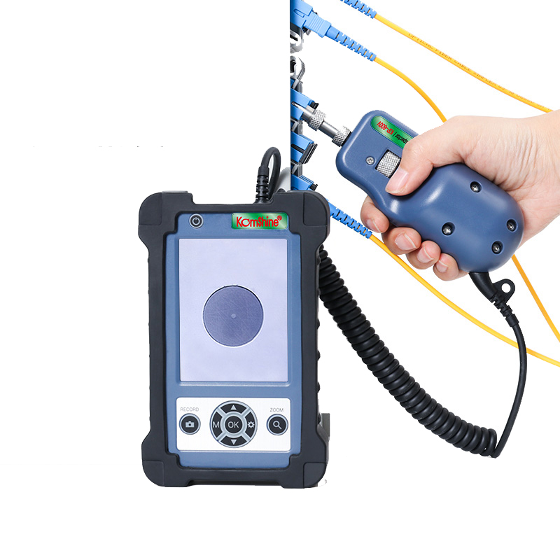Original Komshine 400x Magnification Inspector KIP-600V Fiber Optic Probe 3.5 Inch LCD Display, Real Time Video Function