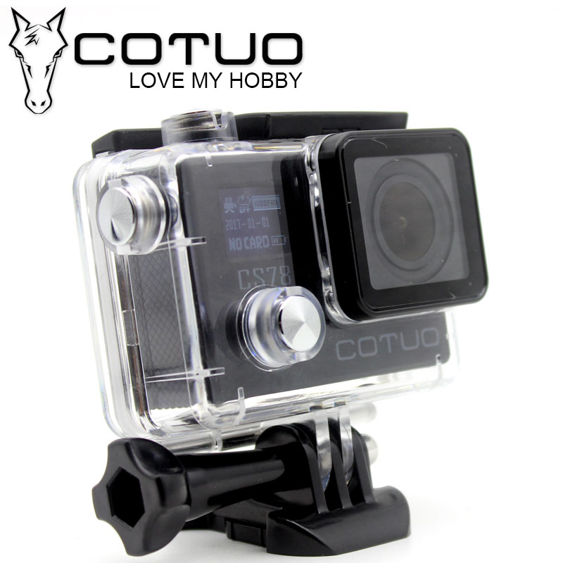 COTUO CS78 Action Camera 30m waterproof 2 0 LCD Screen 1080p 30fps 16MP WIFI Remote Mini