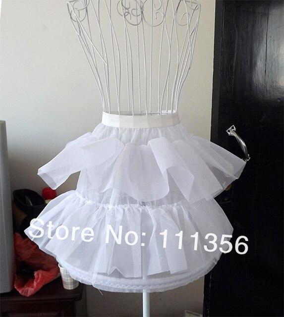 dc38e94e3d54 Aliexpress.com : Buy 1 Hoop White Flower Girl Dresses Petticoat Slip ...
