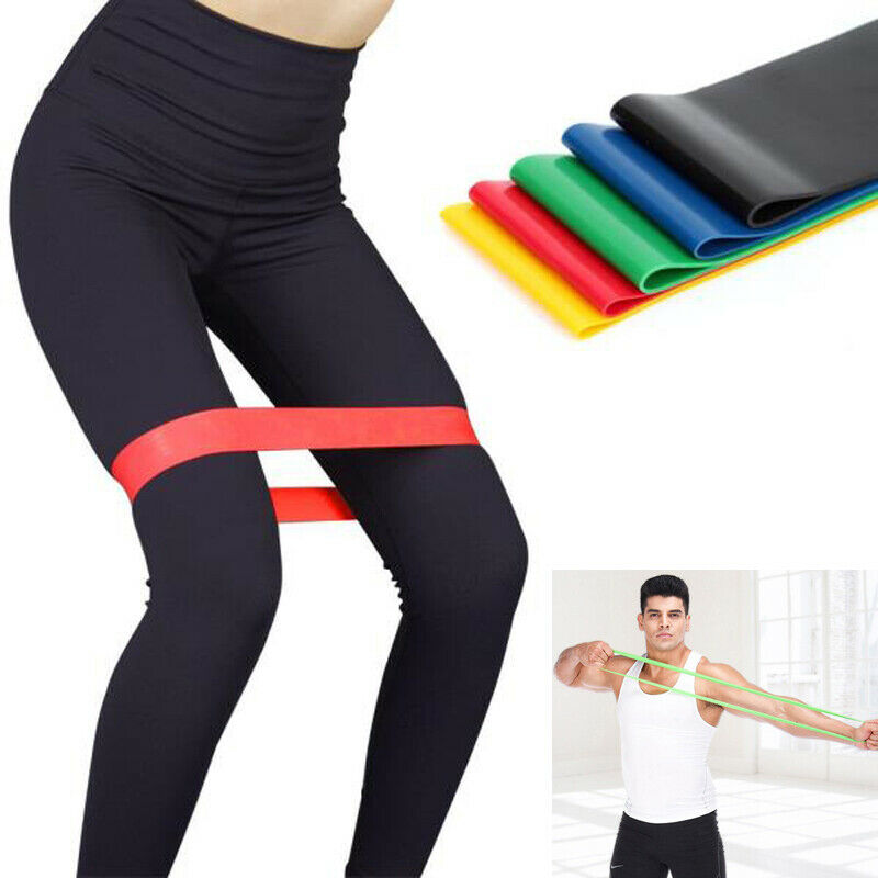 Resistance Bands Loop Set CrossFit Fitness Sports Booty Leg Exercise Workout Band