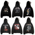 Latest hot GOD METALLICA man Sweatshirts Hooded hiphop 16SS Skull flower yeezus kanye west yeezy oversized cotton