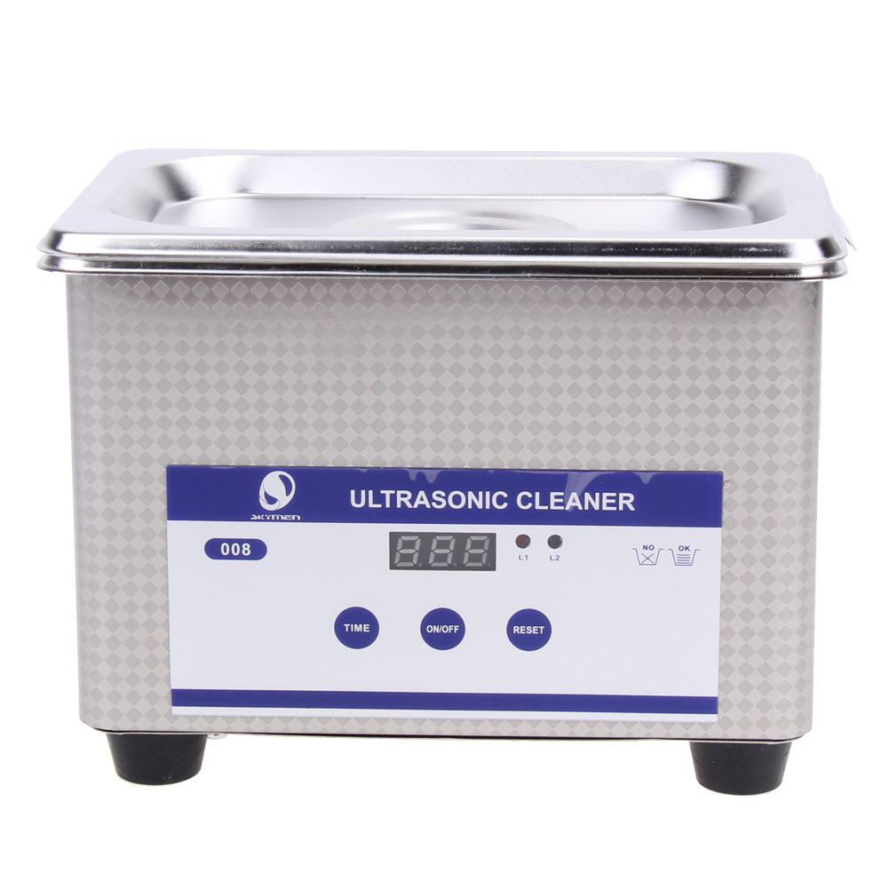 35W 42kHz 800ml Digital Ultrasonic Cleaning Transducer Baskets Jewelry Watches Dental PCB CD Mini Ultrasonic Cleaner Bath ultrasonic bath cleaner 0 75l tank baskets jewelry watches injector ring dental pcb 35w 42khz digital mini ultrasonic cleaner