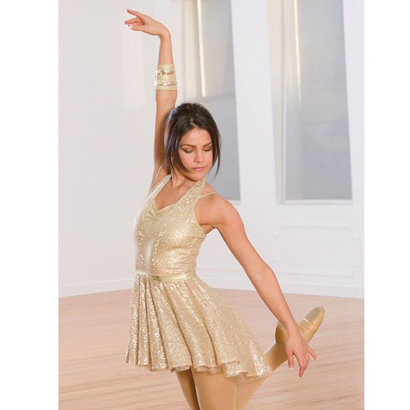47636d4be593 Children Gold Color Ballet Dress