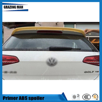 Hot Sale ABS Primer Color Rear roof Spoiler For Golf 7