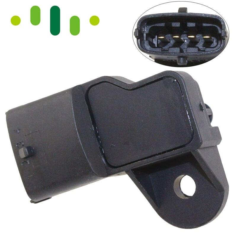 504064370 2.5Bar MAP Pressure Sensor 0261230042 Fits FIAT OPEL VAUXHALL IVECO Fits PORSCHE 911 SAAB New 0261230283 7.18222.12.0