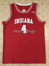 16102714f36 Retro College 4 Victor Oladipo Indiana Hoosiers basketball jerseys  Embroidery
