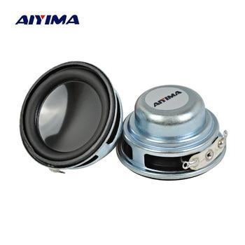 AIYIMA 2Pcs 36MM Mini Audio Portable Speakers 16Core 4Ohm 3W Full Range Speaker Internal Magnetic DIY HiFi Stereo Loudspeaker