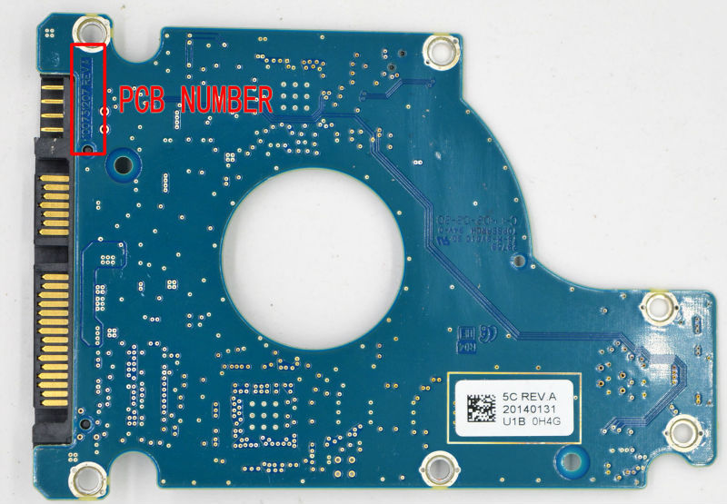 ST1500LM006 HDD PCB FOR SEAGATE/Logic Board/Board Number: 100731207 REV A