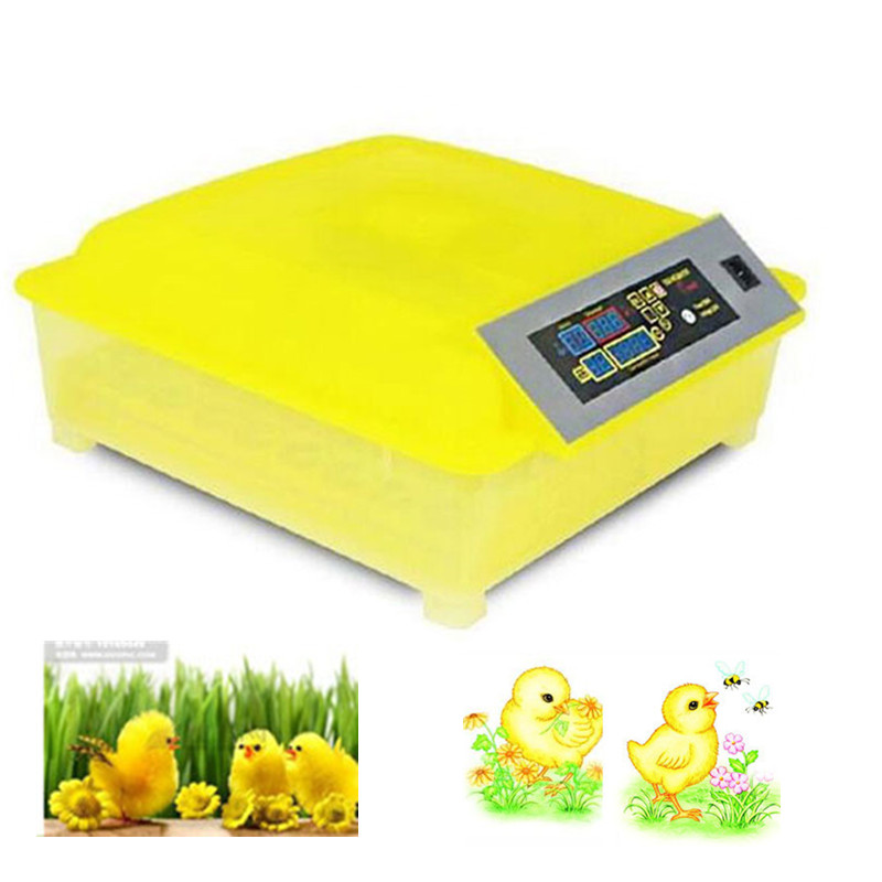 Automatic 48 Eggs Incubator Poultry Hatcher Chicken Turkey Quail Goose Duck eggs full automatic chicken duck goose quail eggs incubator