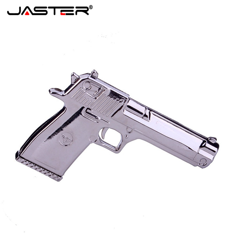 Usb Flash Drives External Storage Ambitious Jaster Metal Golden Silver Bullet Usb Flash Drive Gun Bullet Pendrive 4gb 8gb 16gb 32gb 64gb Memory Stick Keychain Usb 2.0