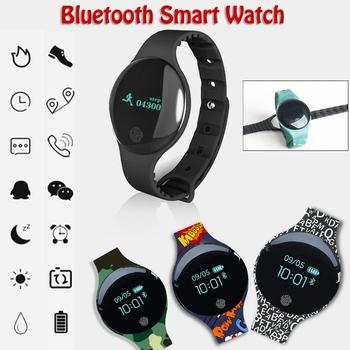 TLW08 Bluetooth Smart Watch Waterproof Fitness Tracker SMS Pedometer Sports FOR Android IOS System Mobile Phone Bracelet Band