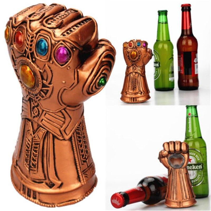 Avengers Thanos Gauntlet Glove Beer Bottle Opener Soda Glass Caps Remover Kitchen Tool Gauntlet Multipurpose Beer Bottle Opener